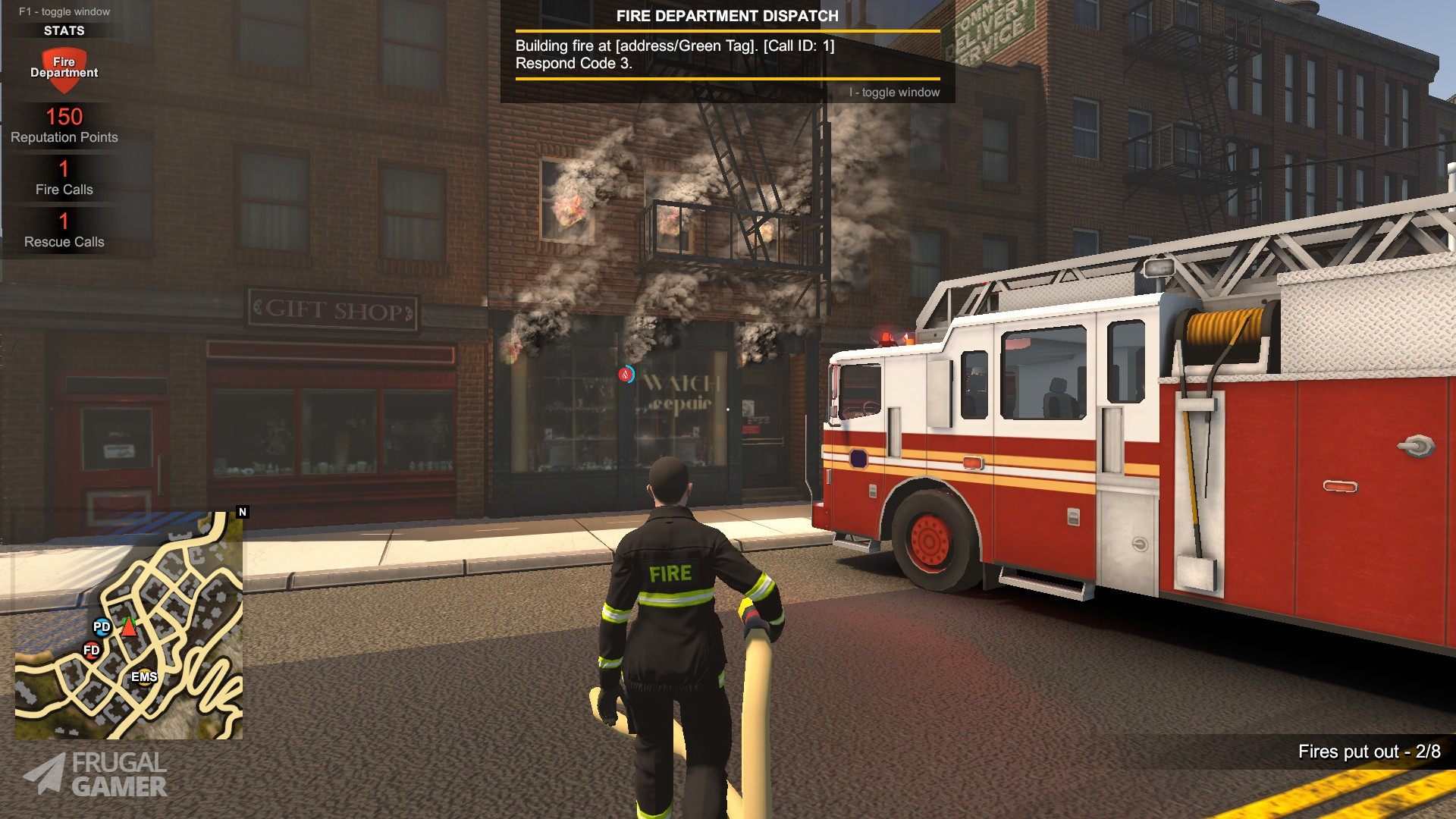 Flashing Lights - Police, Firefighting, Emergency Services Simulator -  Windows PC and Mac - Save 60% on Steam Key