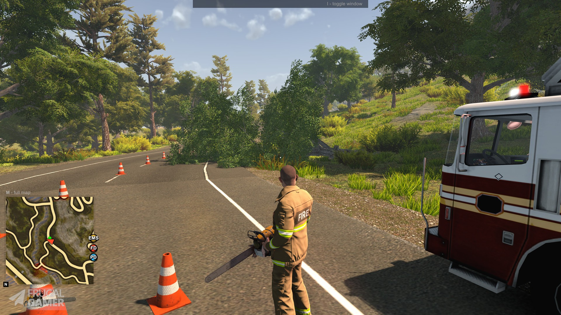 Flashing Lights Police Firefighting Emergency Services Simulator Windows Pc And Mac Save 60 On Steam Key