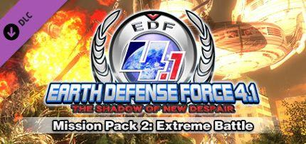 EARTH DEFENSE FORCE 4.1: Mission Pack 2: Extreme Battle