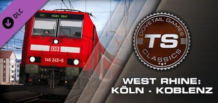 Train Simulator: West Rhine: Koln - Koblenz Route Add-On